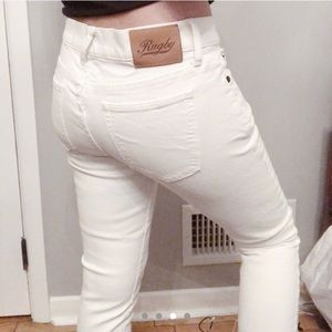 Rugby white jeans